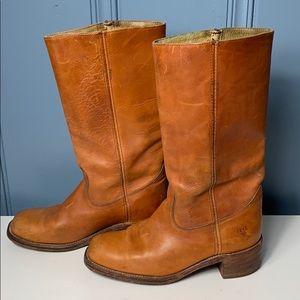 Vintage Frye Pull Up Boots 2951 Men's Size 9D